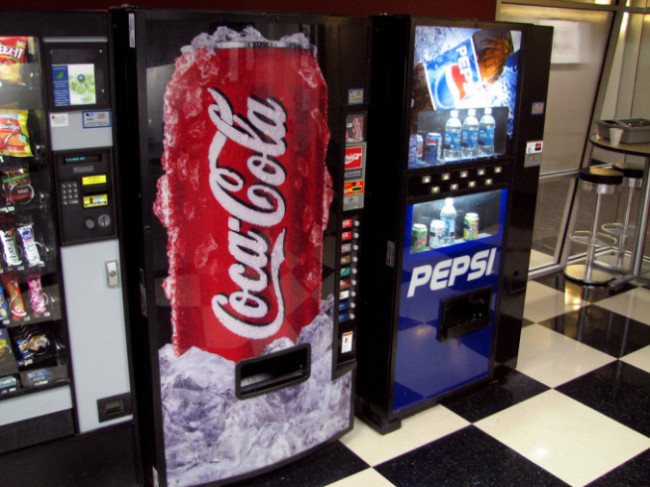 Soda Vending Machines Image