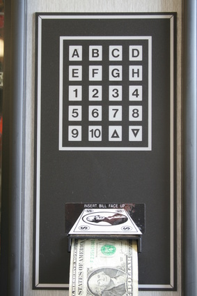 manual vending machine